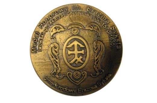 medal honorowy Erazma Syksta - zdjęcie