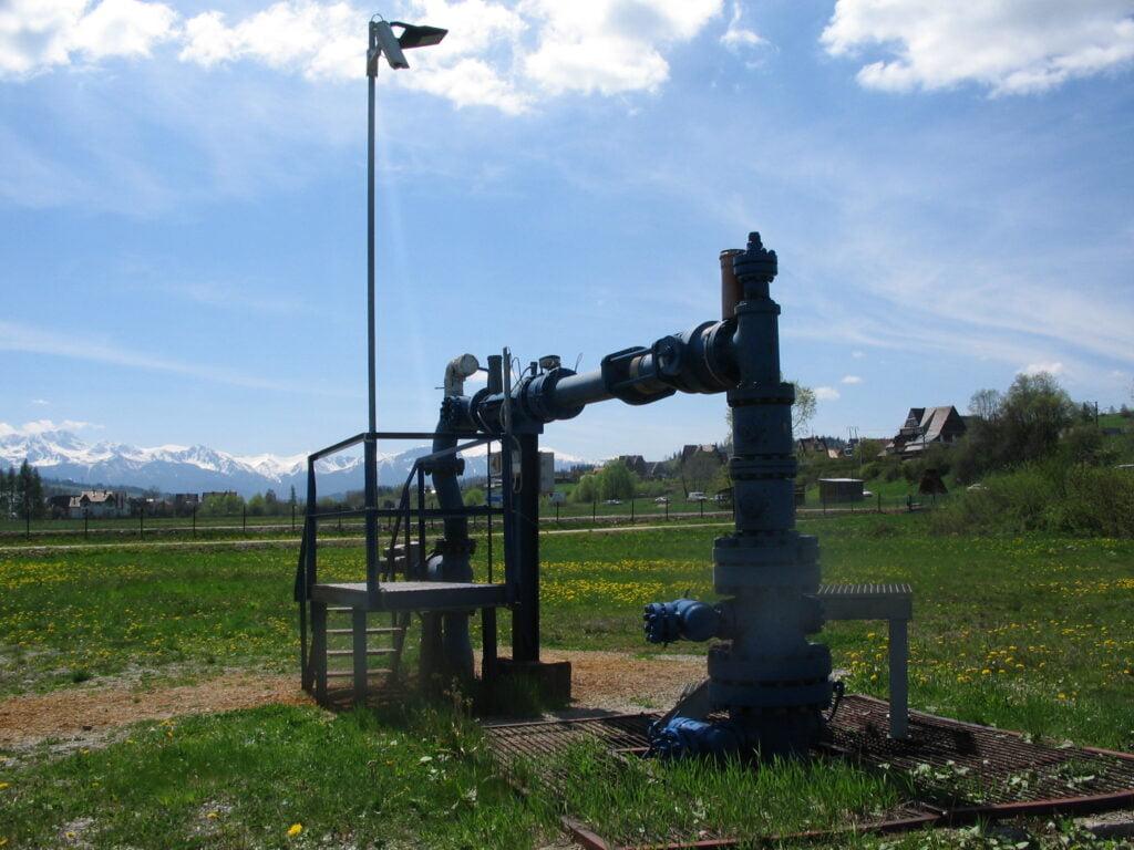Otwór geotermalny - Geotermia Podhalańska